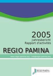 Rapport d'activités Jahresbericht - eurodistrict regio pamina