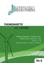 THEMENHEFTE les cahiers - eurodistrict regio pamina