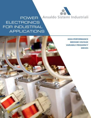 Brochure Medium Voltage Drives - Ansaldo Sistemi Industriali