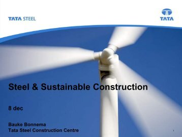 Steel & Sustainable Construction - Eurofer