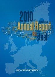Annual Report 2010 - Eurofer