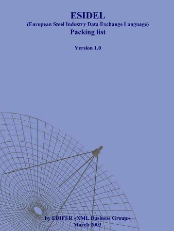 Packing list - Eurofer