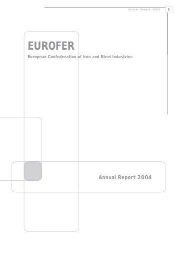 EUROFER Annual Report 2004
