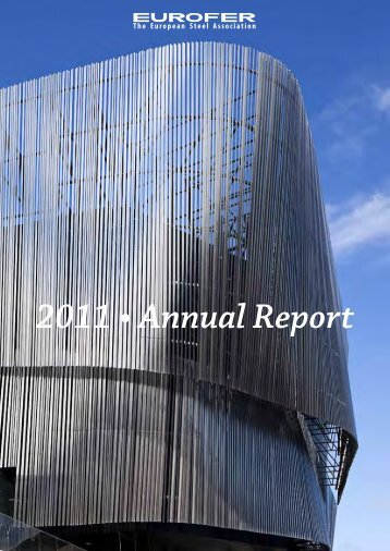 2011 • Annual Report - Eurofer