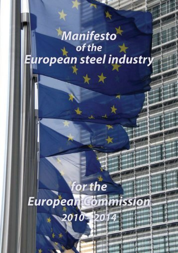 European steel industry European Commission for the ... - Unesid