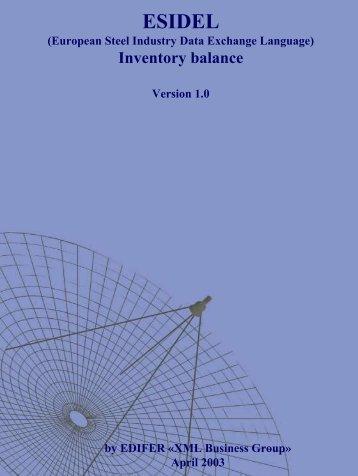Inventory Balance - Eurofer