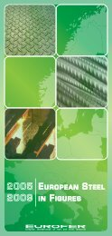 european steel in figures - Irish Business and employers confederation