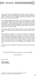 european steel in figures - Irish Business and employers confederation - Page 3