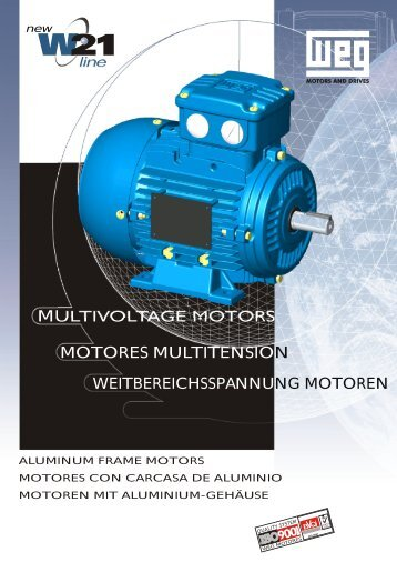MOTORES MOTORS MULTIVOLTAGE MULTITENSION ... - Eurofluid