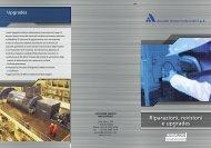 Riparazioni, revisioni e upgrades - Ansaldo Sistemi Industriali