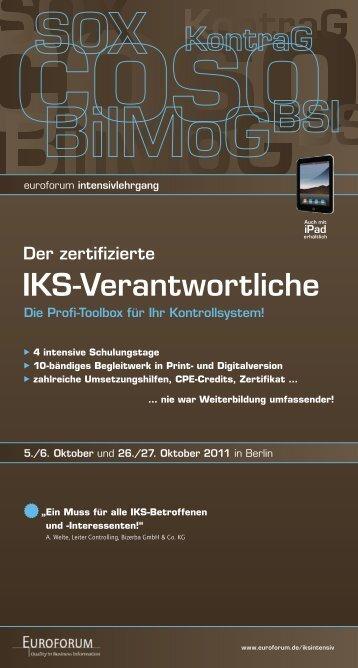 IKS-Verantwortliche - Euroforum