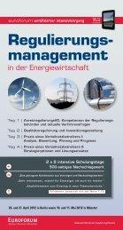 Regulierungs- management - Euroforum
