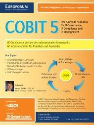 CoBIT 5Der führende Standard für IT-Governance, IT-Compliance und ...