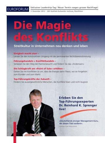 Die Magie des Konflikts - Euroforum