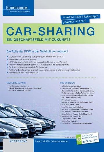 CAR-SHARING - Euroforum