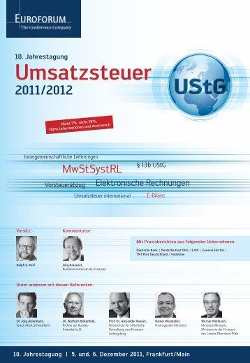Umsatzsteuer - Euroforum