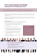 Arbeitsrecht 2012 - Euroforum - Page 2