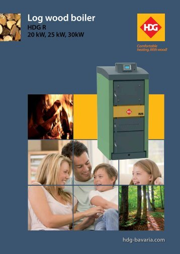 HDG R Series Wood boiler - Euroheat