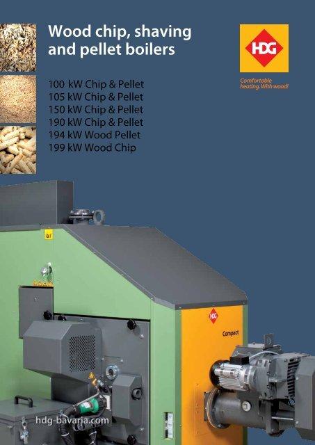 HDG Compact 100-200 biomass boiler - Euroheat