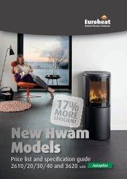 Hwam New Models 2013 - Euroheat