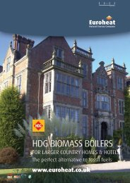 Biomass for Larger Homes - Euroheat