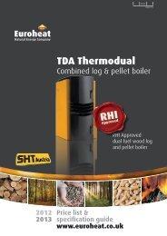 SHT Austria TDA Thermodual price list and brochure ... - Euroheat