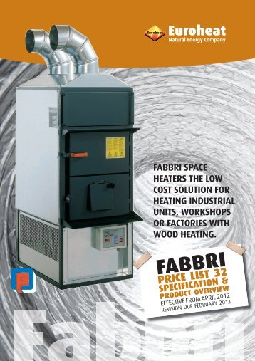 Fabbri Brochure & Price - Euroheat