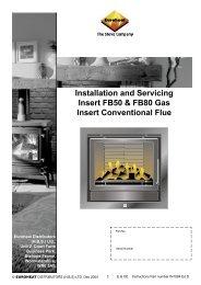Installation Insert Conventional Flue Ed D.indd - Euroheat