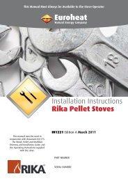 Pellet Stove Installation - Euroheat