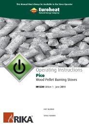 Pico Operating Instruct - Euroheat