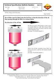 TB177 Oil Filter Installation.indd - Euroheat