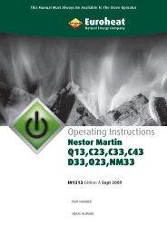 Nestor Martin Operating - Euroheat