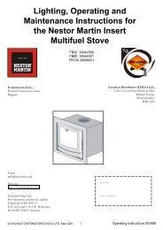 IN1089 Operating Instructions Insert FB50 FB80 FB100 ... - Euroheat
