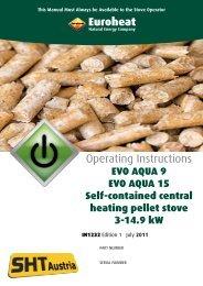 Evo Aqua Operating Inst - Euroheat