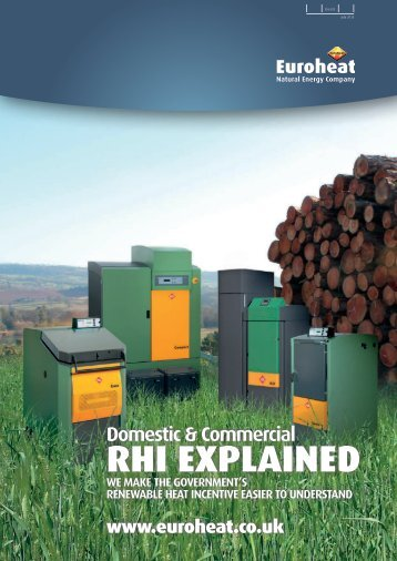 RHI EXPLAINED - Euroheat