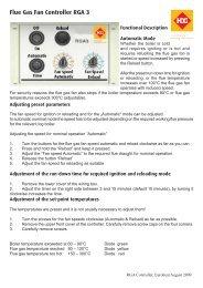 RGA3 Controller - Euroheat