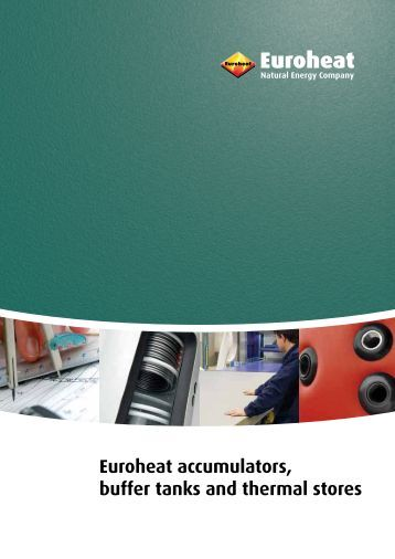 Euroheat accumulators, buffer tanks and thermal stores