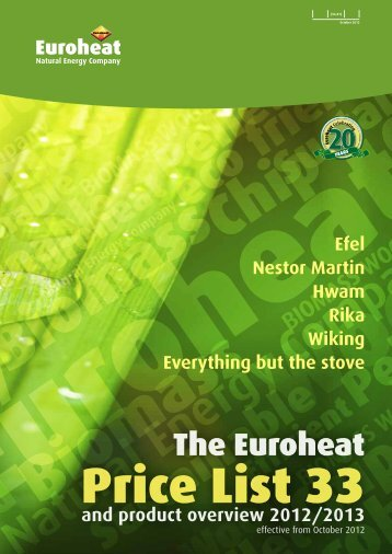 Euroheat Stoves Complete