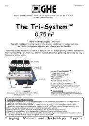 Tri System ang instr - General Hydroponics Europe