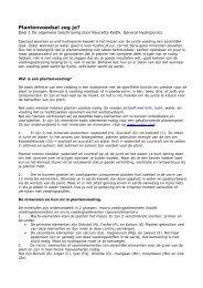 Plantenvoedsel zeg je? - General Hydroponics Europe