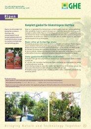 Ripen & Diamond Nectar - General Hydroponics Europe