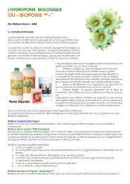 Bioponie article MY FR