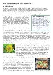 Hydro & medicinal gb - General Hydroponics Europe