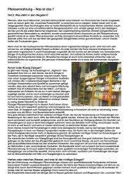 Pflanzennahrung – Was ist das ? - General Hydroponics Europe