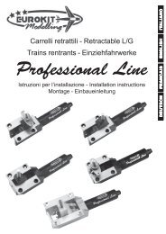 0 Istruzioni Carrelli Professional Line Oct04.pmd - Eurokit
