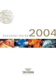 Å R S R E D O V I S N I N G 2004 - Euroland