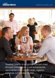Swedish Match är en global koncern med ett brett ... - Euroland