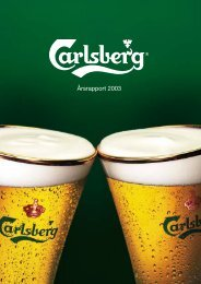 Årsrapport 2003 - Carlsberg Group