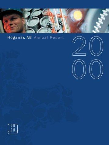 Höganäs AB Annual Report - Euroland