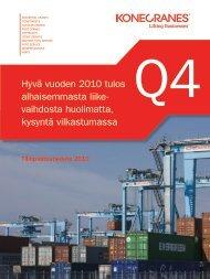 hyvä vuoden 2010 tulos alhaisemmasta liike- vaihdosta ... - Euroland